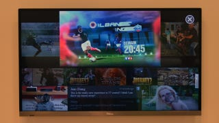 Illustration for article titled Haier's Eye-Controlled Display Could Be the Future of Super-Lazy TV Watching