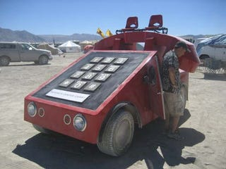 Illustration for article titled Tunachucker Hero Eats Nevada Sand For A Week, Brings Back Mutant Vehicle Photos