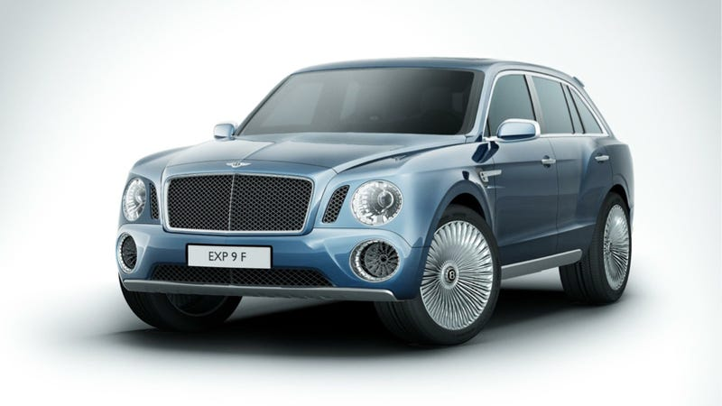 Illustration for article titled Bentley Might Put A Diesel In Its SUV But Probably Won't