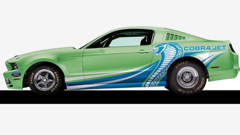 Illustration for article titled Ordering One $97,990 Part From Ford Gets You A Whole Cobra Jet Mustang