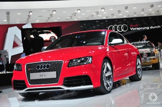 Illustration for article titled 2010 Audi RS5: Geneva Comes Early This Year