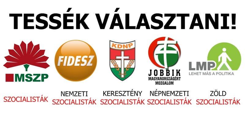 Illustration for article titled Szocialisták ezek mind