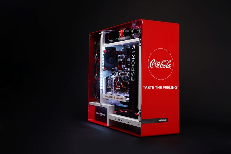 Illustration for article titled Have A Coke And A Powerful Custom Gaming PC