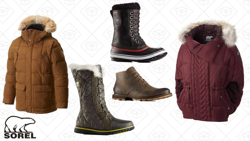 Up to 65% off select styles   Sorel   Use code SORHOLIDAY65