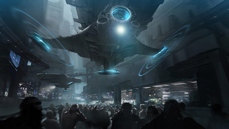 Illustration for article titled The Most Eye-Popping Futuristic Concept Art We've Seen in Weeks