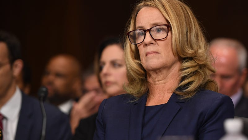 Illustration for article titled 'I'm Grateful to Have Had the Opportunity to Fulfill My Civic Duty,' Says Christine Blasey Ford