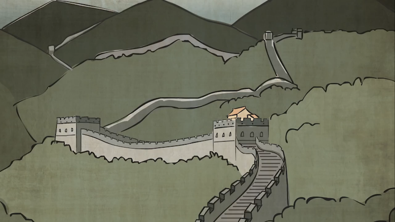 Illustration for article titled The history of the Great Wall of China and what makes it so great