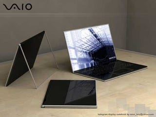 Illustration for article titled Vaio Zoom Concept is Exactly How We Want Laptops to Look in the Future