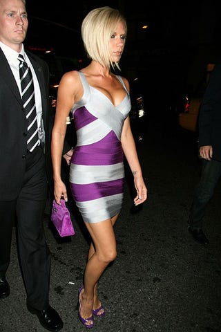 Illustration for article titled Victoria Beckham's Bandage Dress