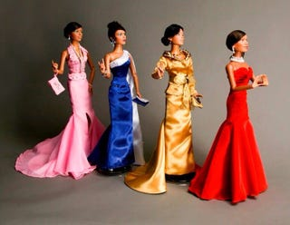 Illustration for article titled Custom Dolls Celebrating Historically Black Sororities
