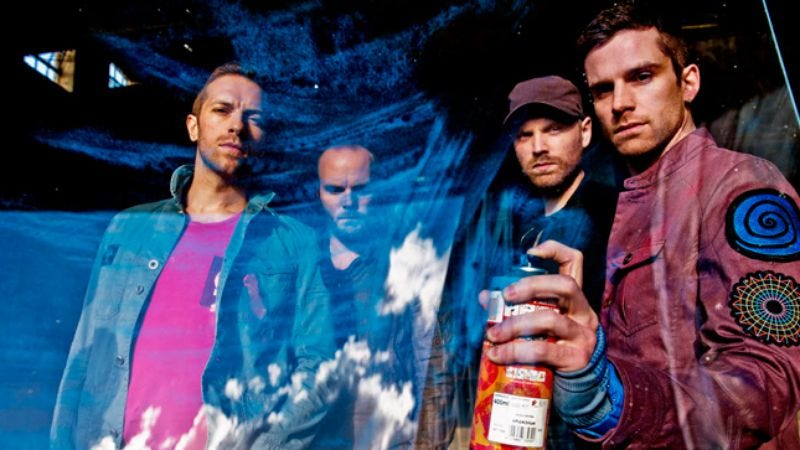 Illustration for article titled Coldplay:Mylo Xyloto