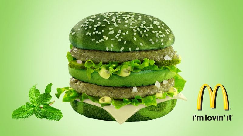 Illustration for article titled McDonald's Announces New Spearmint After-Dinner Big Mac