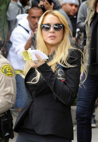 Illustration for article titled Lindsay Lohan Enters Rehab Again