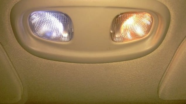 Gut An Led Tap Light To Upgrade Your Car S Map Lights