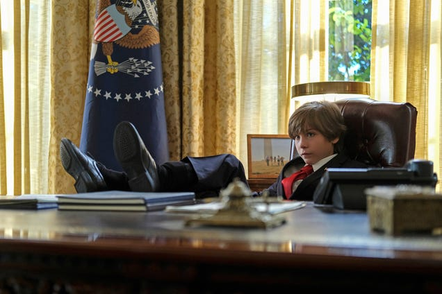 John Cho gets an preteen president elected in a too-silly Twilight Zone