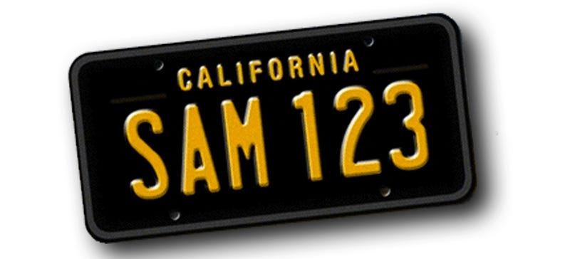 Illustration for article titled Car Guy Politician And Californians Make Retro License Plates Happen