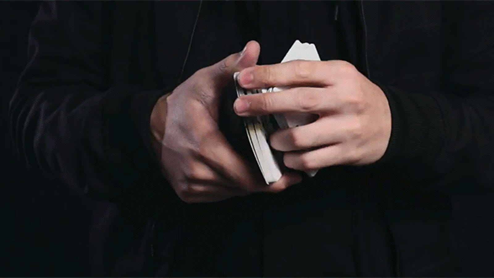 Incredible Card Flourishes Look Even Better in Slow Motion