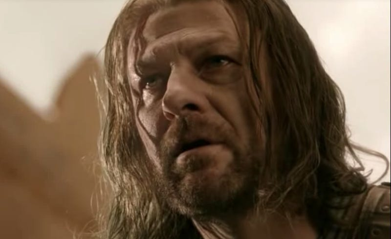 Illustration for article titled Sean Bean reveals Ned Stark's last words on Game Of Thrones