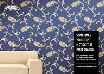 Illustration for article titled Domestic Violence Wallpaper Will Spruce up Your Drab Dining Room