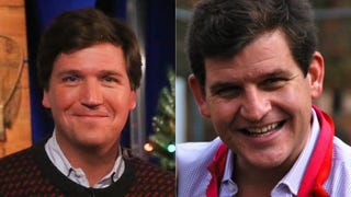 Illustration for article titled Tucker Carlson's Brother: Female de Blasio Staffer Has 'Dick Fright'