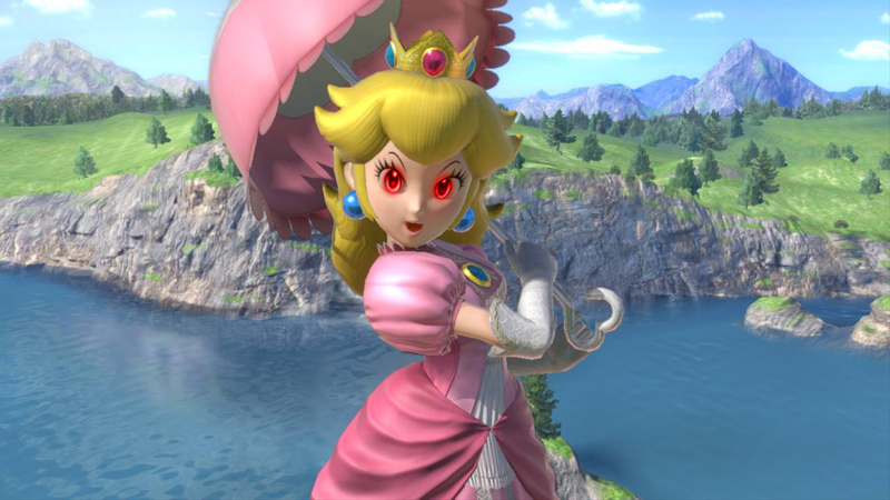 Illustration for article titled Peach Is A Monster In Smash Ultimate, Pros Say