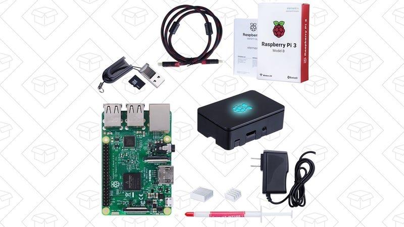 Raspberry Pi Starter Kit   $58   Amazon   Promo code ATAGNMFT