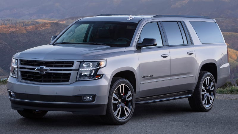 Illustration for article titled The 420 HP 2019 Chevy Suburban RST Is America's Next Super Wagon