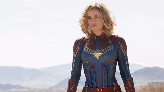 Captain Marvel is Even More Alien in Unused Concept Art