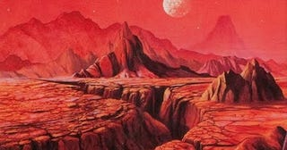 Illustration for article titled Kim Stanley Robinson'sRed Mars Is Coming to TV, But You'll Never Guess Where