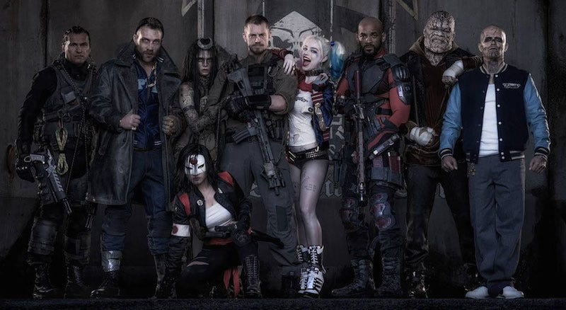 Promotional Suicide Squad photo via Warner Bros.