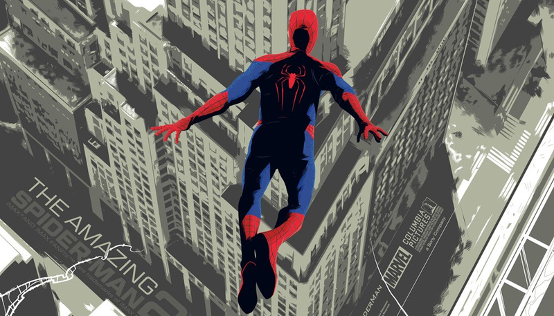 Illustration for article titled IMAX Exclusive Poster For The Amazing Spider-Man 2