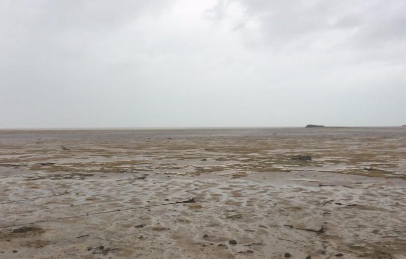Costa de Bahamas tras el paso de Irma. Twitter