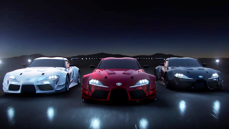 This Is What The New Toyota Supra Looks Like Without All Those Stickers