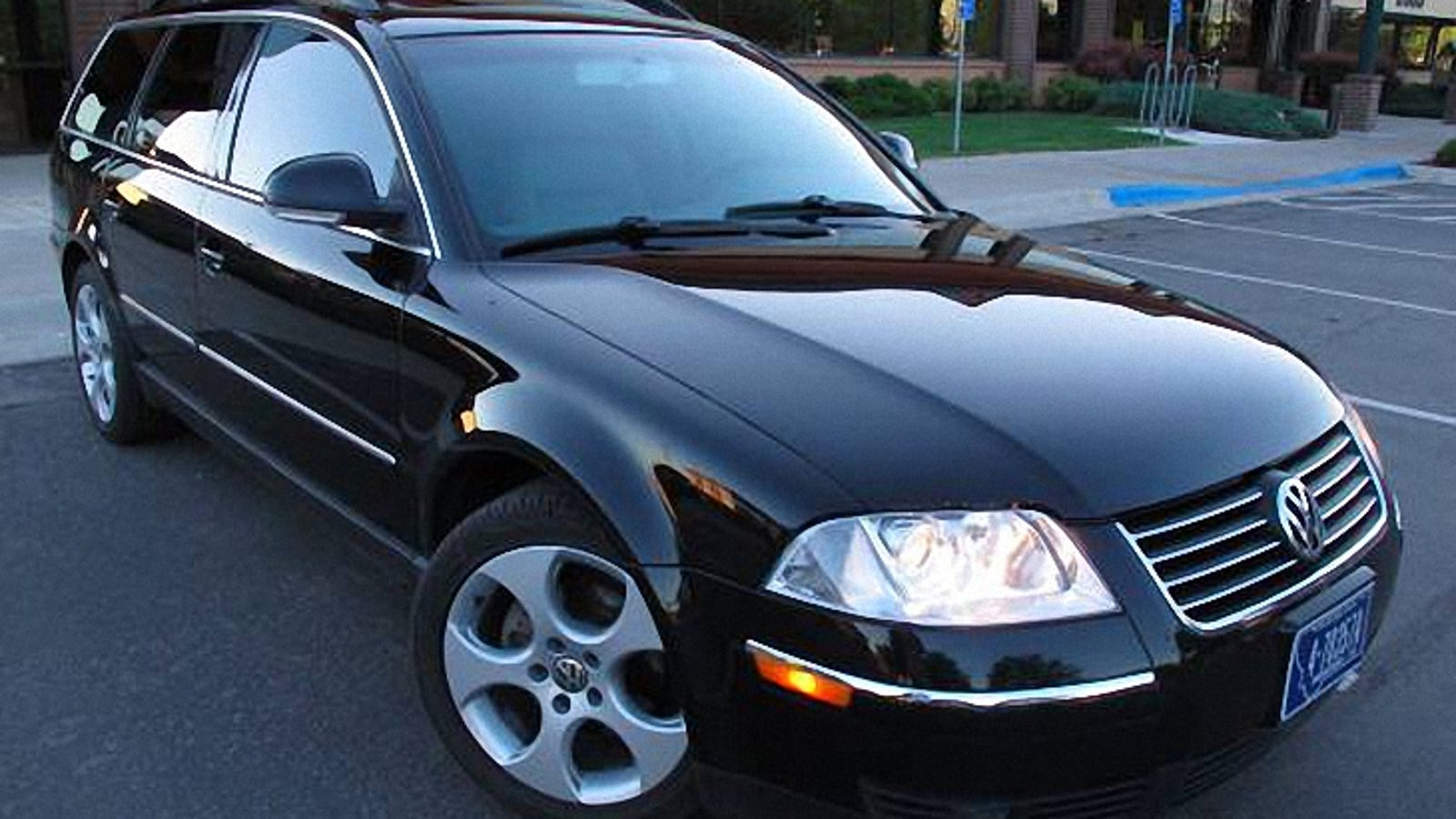 For 11 000 This 2005 Vw Pat Tdi Is Shaken And Stirred