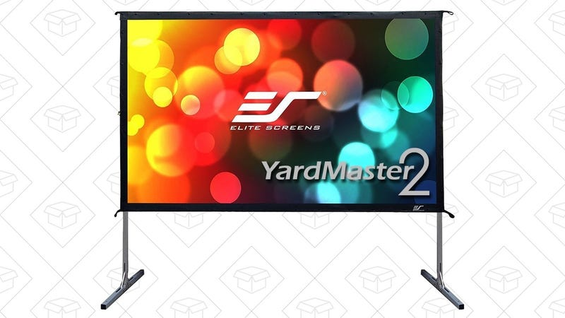 "YardMaster 2 120"" Outdoor Projection Screen 