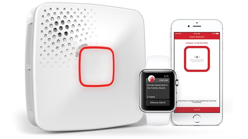 Illustration for article titled First Alert's New Smoke and Carbon Monoxide Detector Alerts Your iOS Devices of Danger