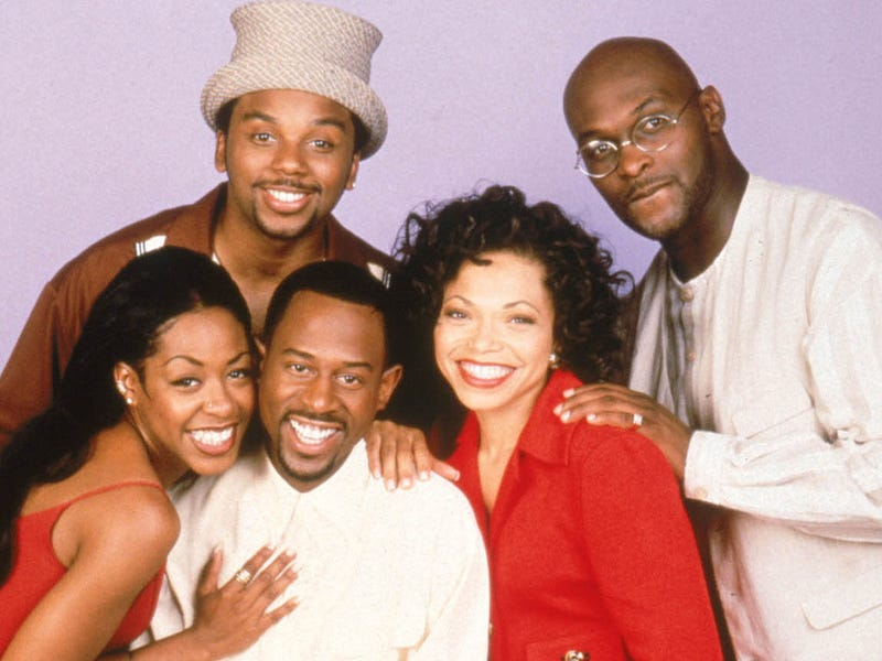 Cast of Martin, including actor Tommy Ford (right)Fox