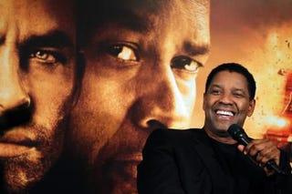 Denzel Washington at a press conference Nov. 3, 2010, in Paris to promote his movie UnstoppableJOEL SAGET/AFP/Getty Images