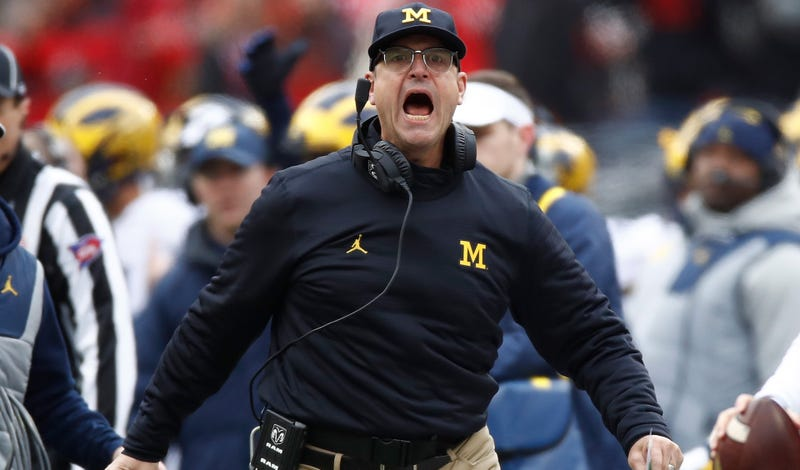 Illustration for article titled Jim Harbaugh Remains A Total Weirdo
