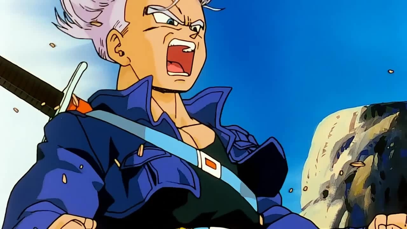Trunks, ready to rumble.