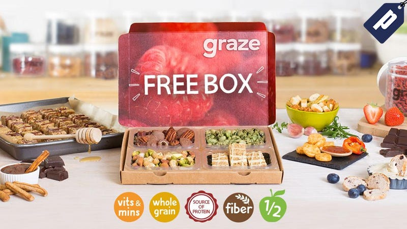 Illustration for article titled Get A Free Graze Box And Enjoy Delicious Snacks Delivered To Your Door