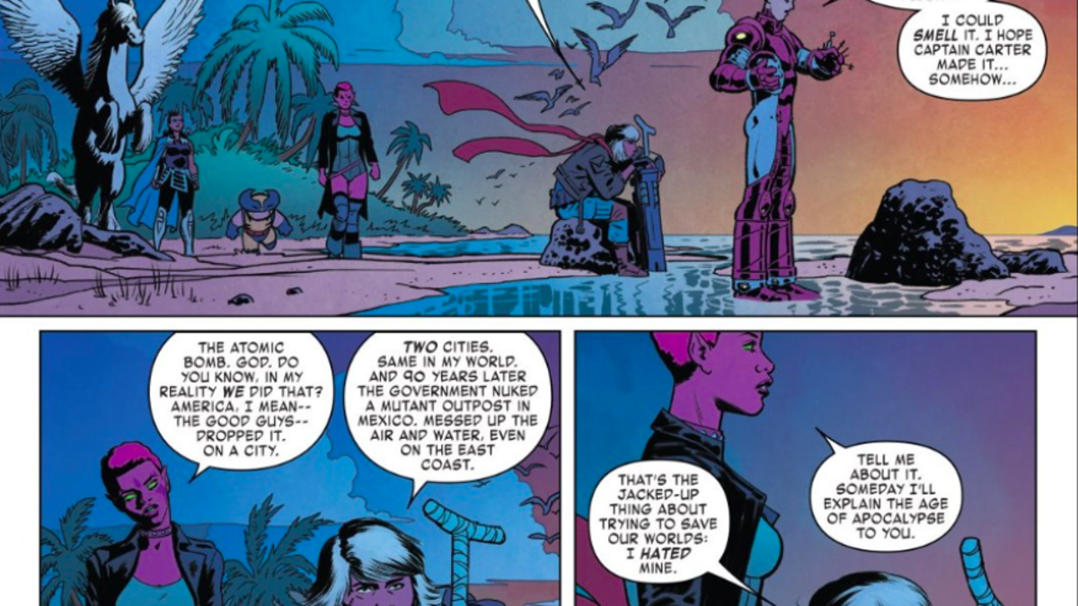 Marvel's Exiles showcases the limitless potential of
