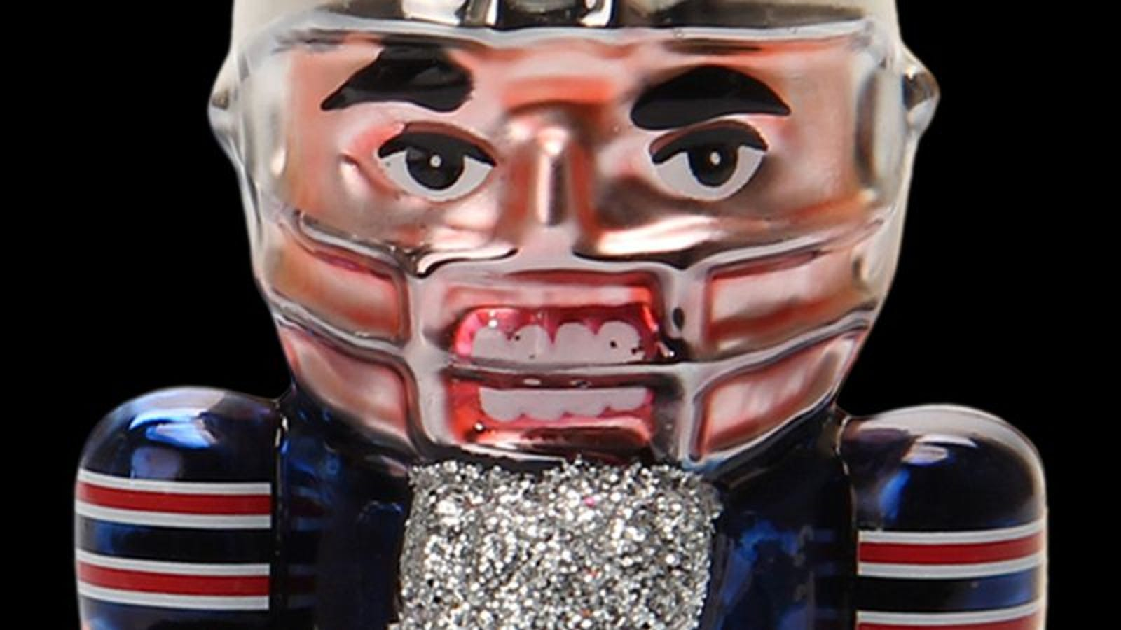 The dead-eyed horrors of NFL holiday merchandise