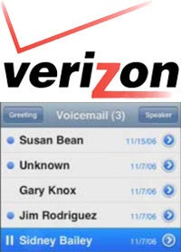 Visual voicemail coming to verizon for a price rumor has it that verizon wireless will be joining att and sprint in offering visual voicemail in this case on four upcoming phones lgs chocolate 3 and m4hsunfo
