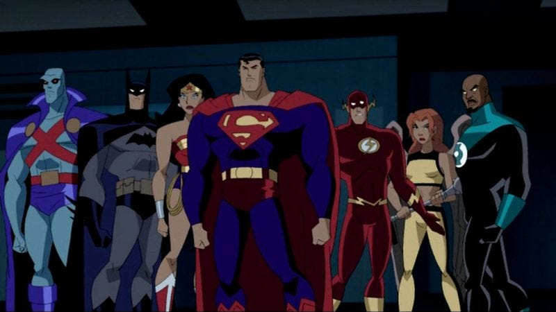 Illustration for article titled Read This: A case for Justice League Unlimited as the best superhero show