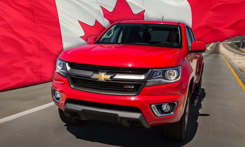 Illustration for article titled 2015 Chevy Colorado Already On Big Backorder In Canada