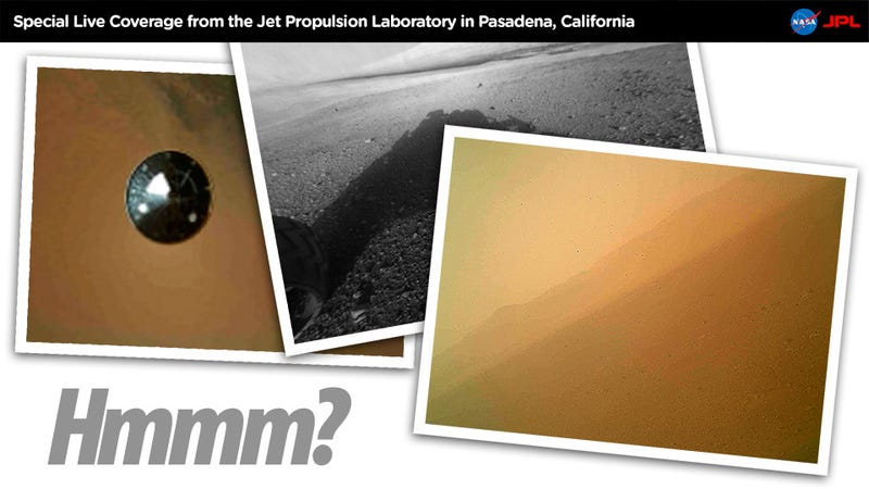 Illustration for article titled Why Do the Mars Rover's Images Look So Bad?