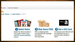 Illustration for article titled Amazon's Trade-In Program Now Accepts Your Old CDs