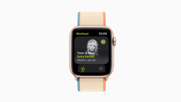 Apple Adds Time to Walk Feature to Fitness+