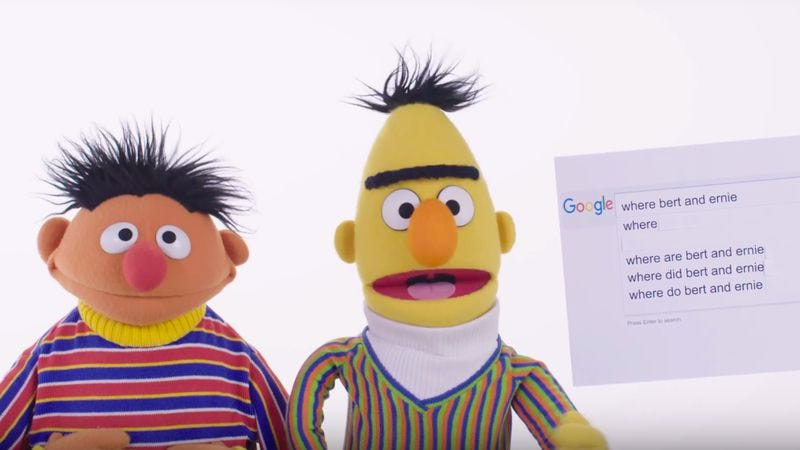 Photo: Bert and Ernie (Wired)
